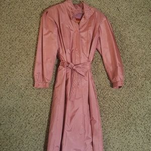 Jackets & Blazers - Blush trench coat by winning tower